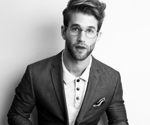 beard, andre hamann, and glasses image