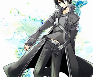 sao, kirito, and sword art online image