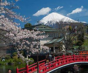 japan, asia, and mountains image