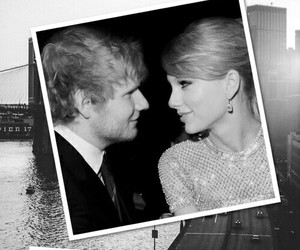 Taylor Swift and ed sheeran image