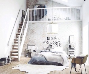 beautiful, bedroom, and morning light image