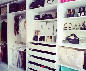 shoes, closet, and dressing image