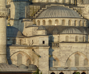 architecture, mosque, and turkey image