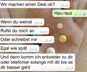 chat, deutsch, and deal image
