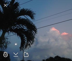 snapchat, sky, and clouds image