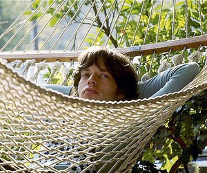 mick jagger, hammock, and relax image