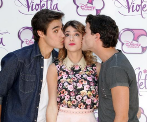 jorge, violetta, and jorge blanco image