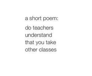 class, poem, and quotes image
