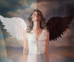 lana del rey, angel, and dark image