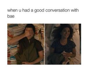 bae, love, and good image