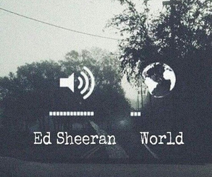 music, world, and ed sheeran image