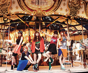 4minute and kpop image