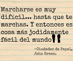 book, john green, and ciudades de papel image