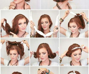 hair, diy, and fashion image