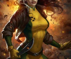 Rogue and x-men image