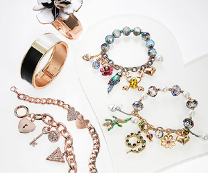 bracelets, jewelry, and style image