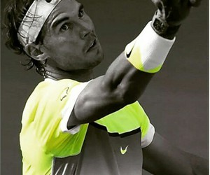 fitness, nike, and Rafael Nadal image