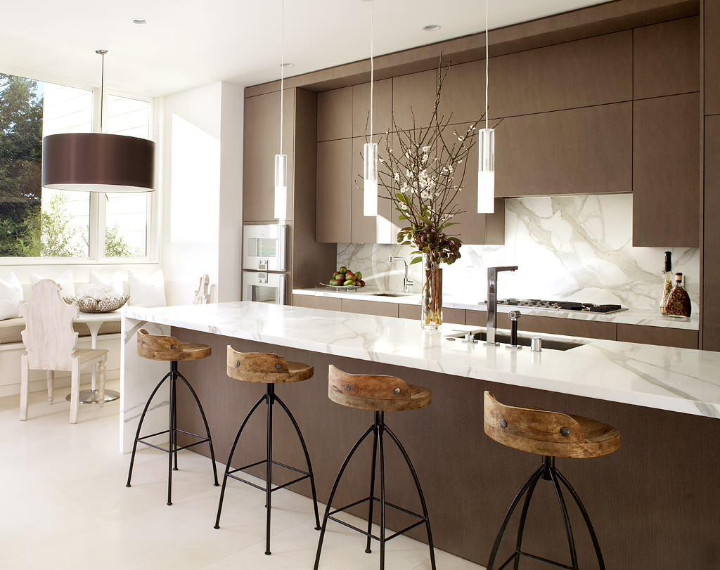 Bar Stools With Marble Countertops
