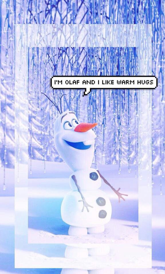 Olaf Wallpaper Discovered By Rogue On We Heart It