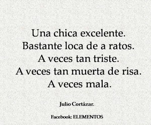 girl, frases, and julio cortazar image