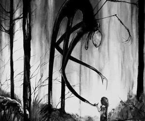 slenderman, slender, and creepy image