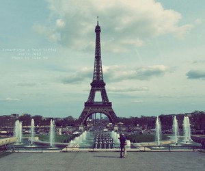 paris, france, and eiffel image
