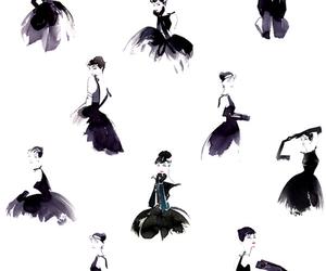 audrey hepburn, dress, and audrey image