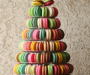 macaroons, sweet, and food image