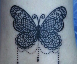 amazing, ankle, and butterfly image