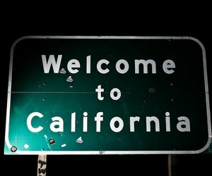 california, welcome, and grunge image