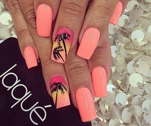 nails, girl, and Hot image