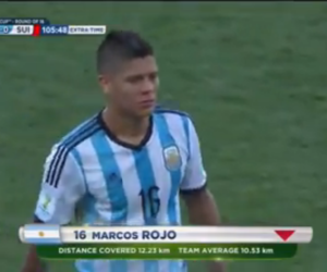 argentina, sporting cp, and marcos rojo image