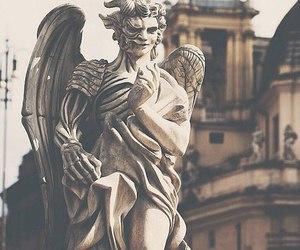 angel, art, and demon image