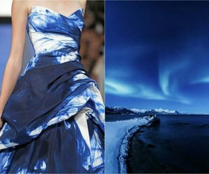 dress, nature, and blue image