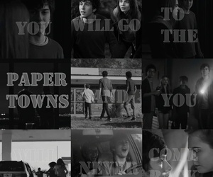 August, john green, and paper towns image