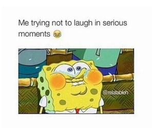 funny, laugh, and spongebob image