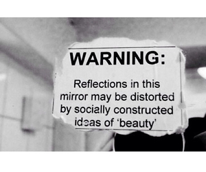 mirror, beauty, and reflection image