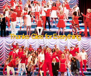 glee, thanks, and family image