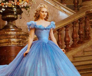 cinderella, dress, and disney image