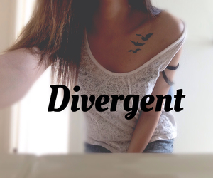 insurgent, divergent, and tatoos image