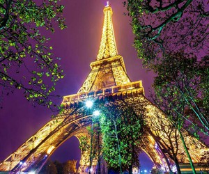 paris and tower image