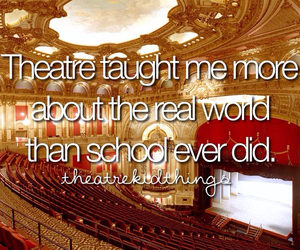 funny, school, and theatre image