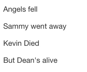angels, Sam, and castiel image
