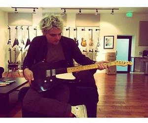 gerard way, my chemical romance, and guitar image