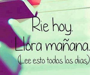 rie, llorar, and laughs image
