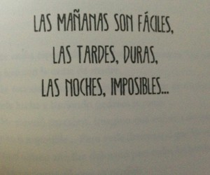 frases, Noche, and imposible image