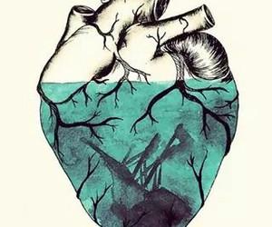 broke, feelings, and heart image