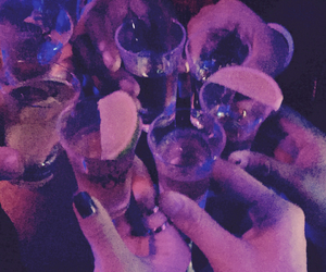 cheers, party, and tequila image