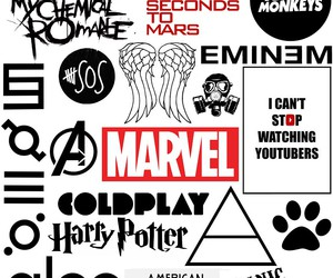 Marvel, music, and 5sos image