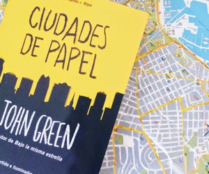 book, ciudades de papel, and john green image